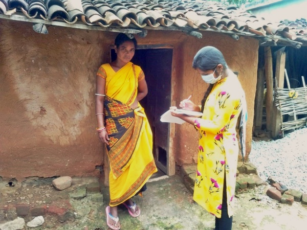 Recording the nutrition and health status of local women in rural areas