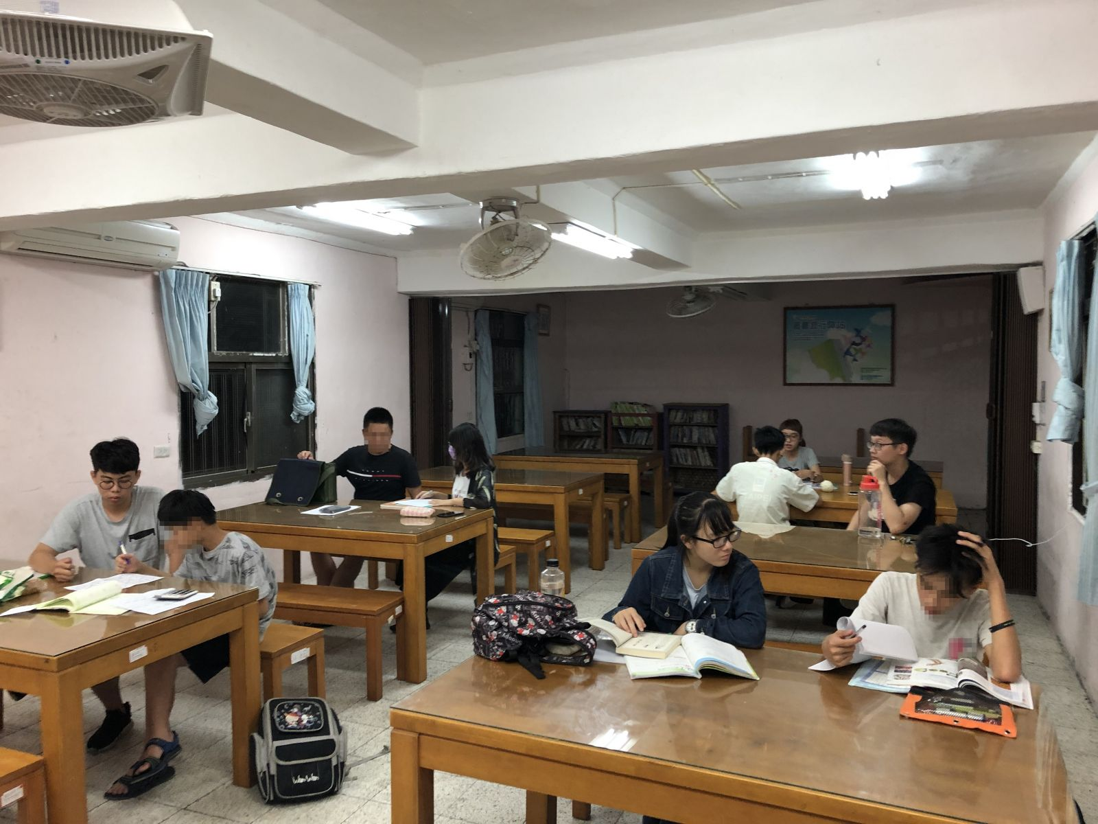 Study Sessions in Mustard Seed Youth Home