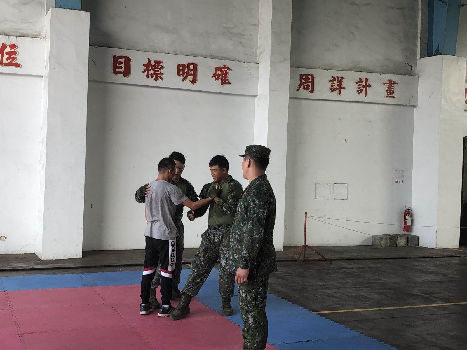 Learning tactical self-defense from the instructors